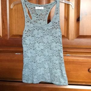 lacey tank top from gilly hicks size xs